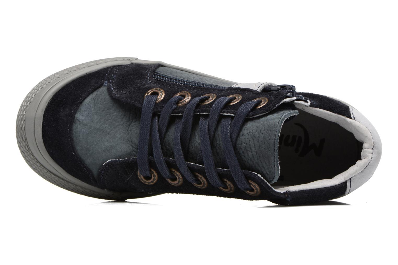 Sneakers Minibel Nick Blauw links