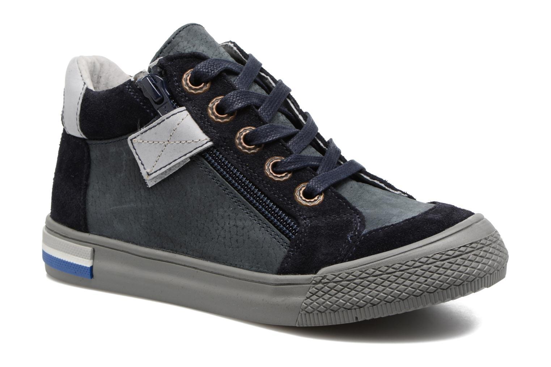 Sneakers Minibel Nick Blauw detail