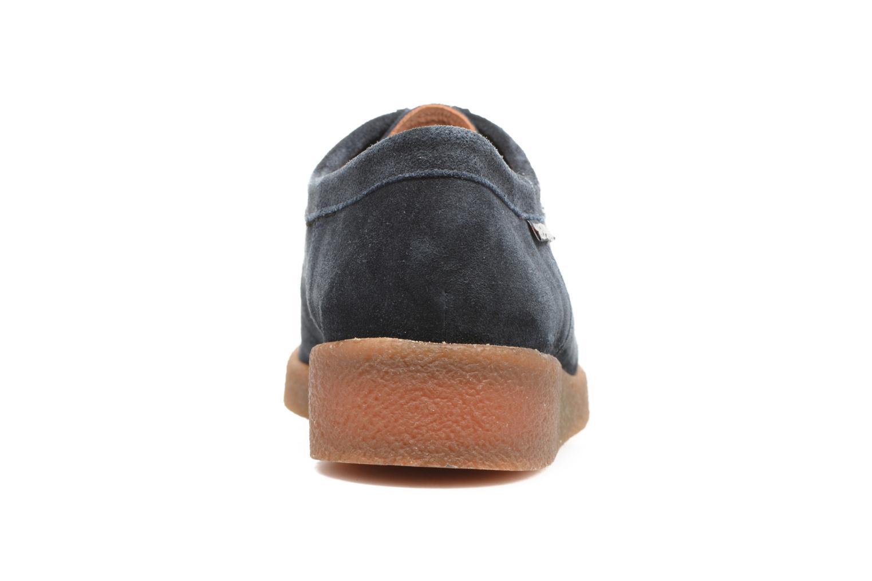 Chaussures à lacets Mephisto Christy Bleu vue droite