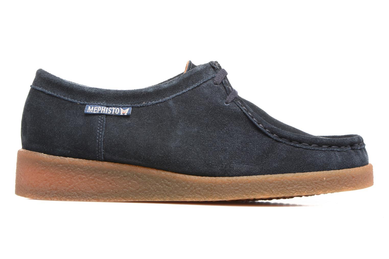Chaussures à lacets Mephisto Christy Bleu vue derrière