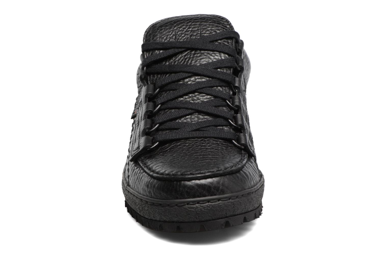 Chaussures à lacets Mephisto Rainbow Noir vue portées chaussures