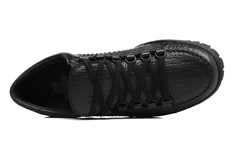 Chaussures à lacets Mephisto Rainbow Noir vue gauche