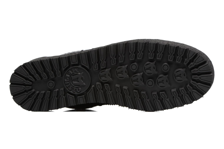 Chaussures à lacets Mephisto Rainbow Noir vue haut