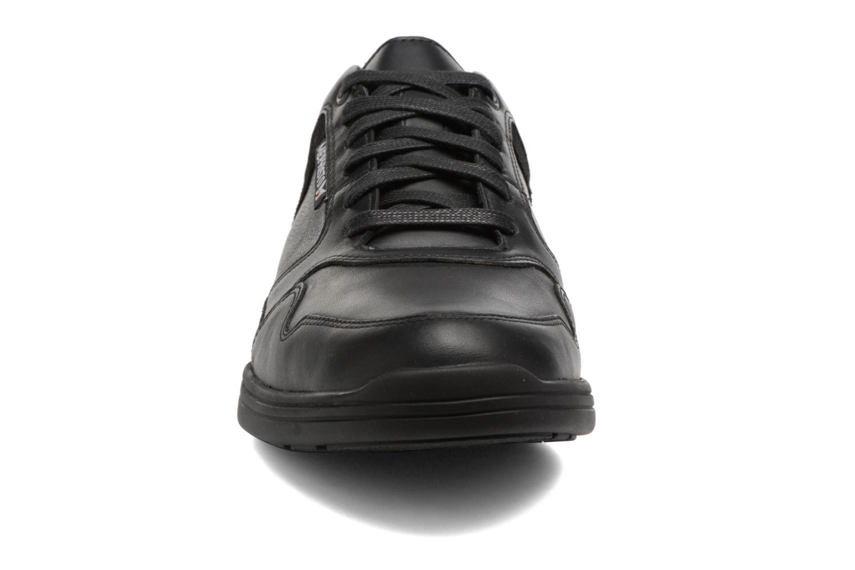 Baskets Mephisto Felipe Noir vue portées chaussures