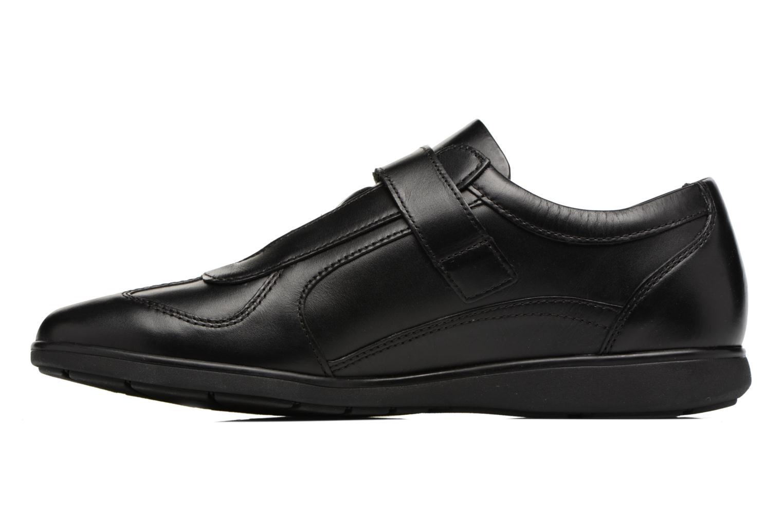 Sneakers Mephisto Luca Zwart voorkant