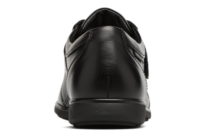 Sneakers Mephisto Luca Zwart rechts