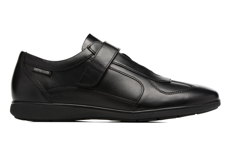 Sneakers Mephisto Luca Zwart achterkant