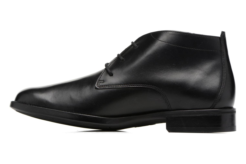 Chaussures à lacets Mephisto Claudio Noir vue face