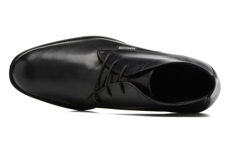 Chaussures à lacets Mephisto Claudio Noir vue gauche