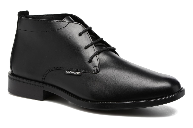 Chaussures à lacets Mephisto Claudio Noir vue détail/paire