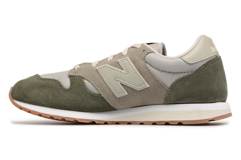 Sneakers New Balance WL520 Groen voorkant