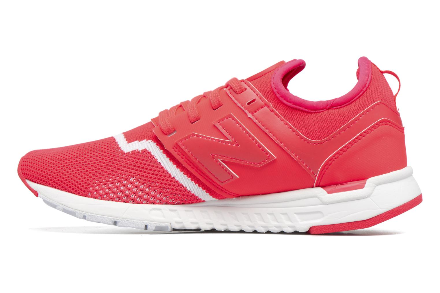 Baskets New Balance WRL247 Rouge vue face