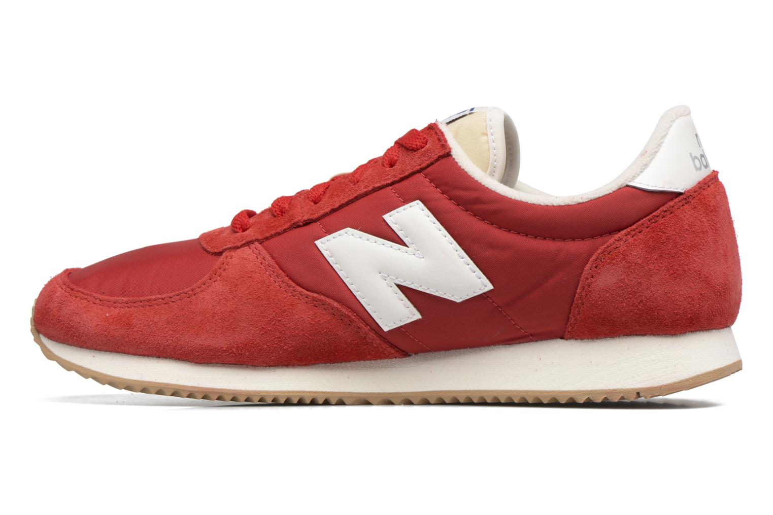 Sneakers New Balance U220 Rosso immagine frontale