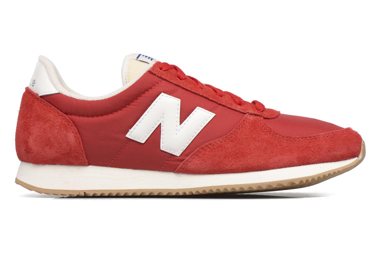 Sneakers New Balance U220 Rosso immagine posteriore