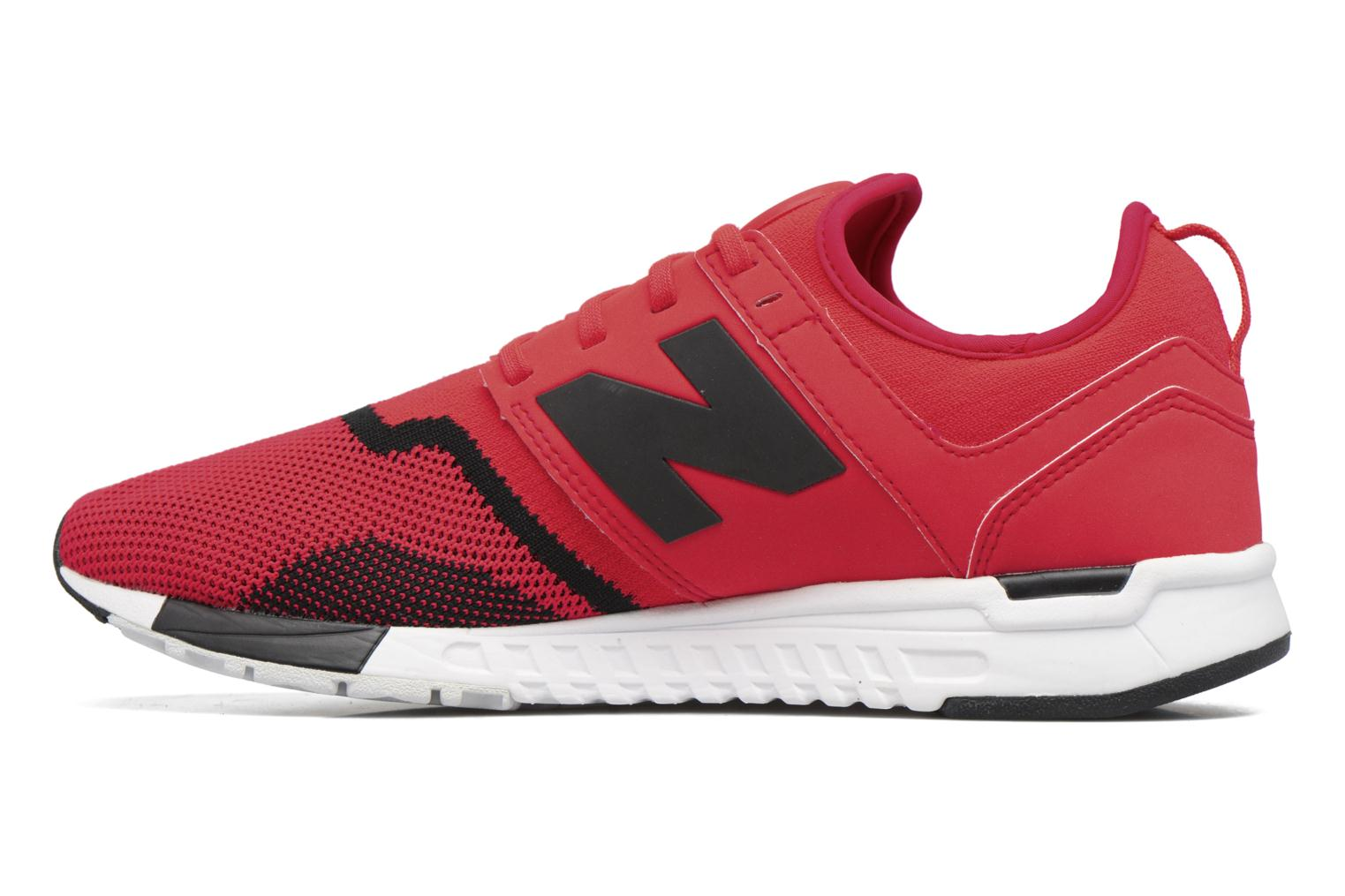 Baskets New Balance MRL247 Rouge vue face