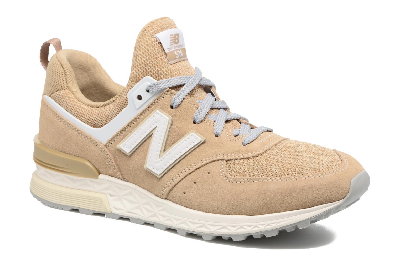 NEW Balance ms574 BS Beige Sneaker Scarpe Sportive