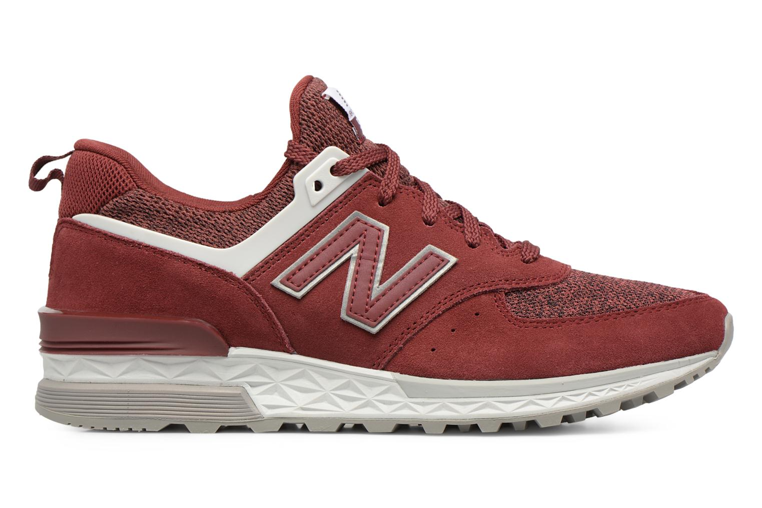 Sneakers New Balance MS574 Rosso immagine posteriore