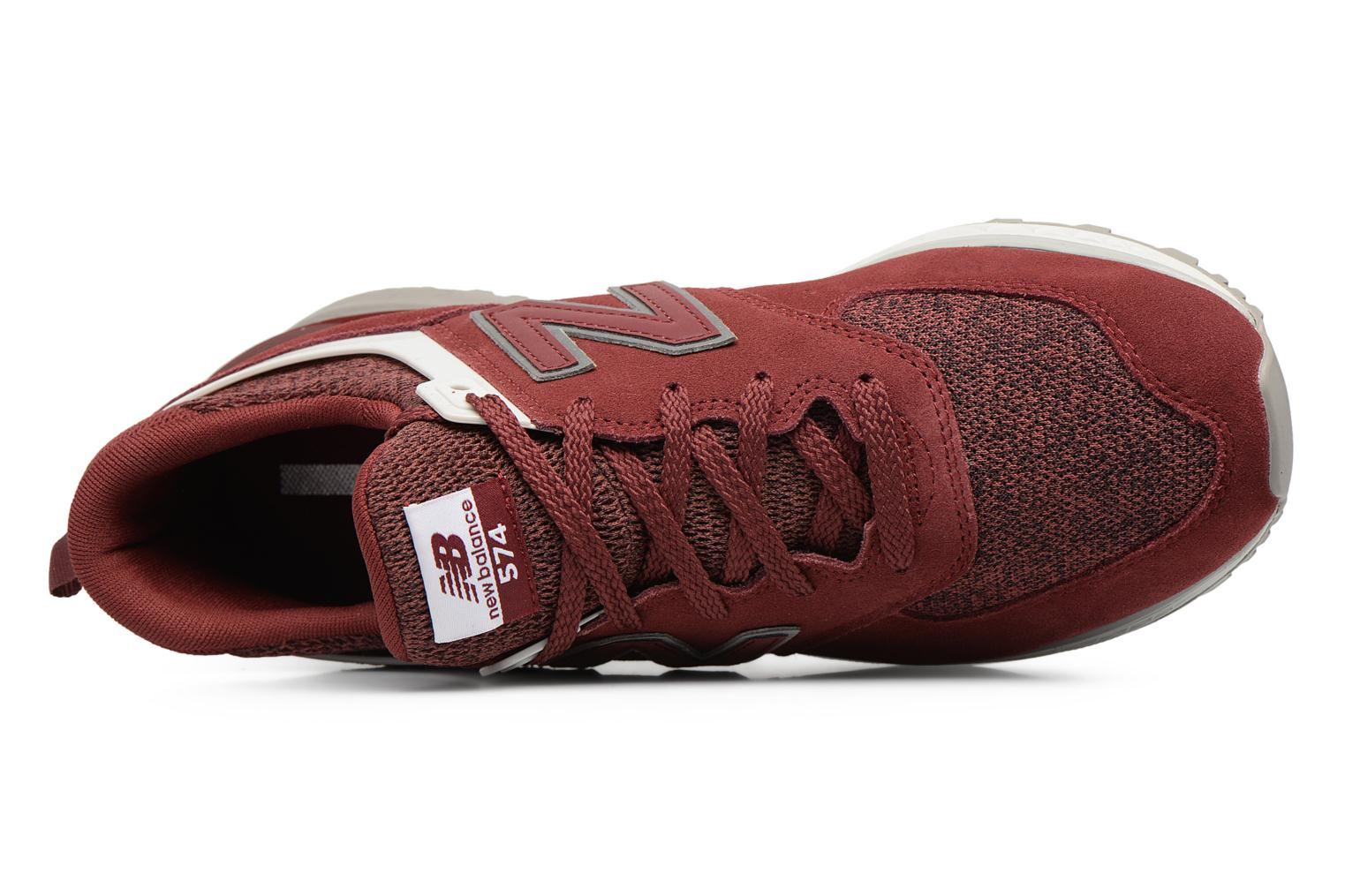 Sneakers New Balance MS574 Rosso immagine sinistra
