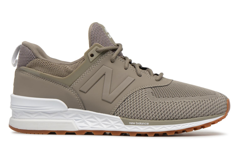 Sneakers New Balance MS574 Grijs achterkant