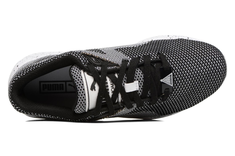 Baskets Puma Trinomic R698 Knit Speckle W Blanc vue gauche