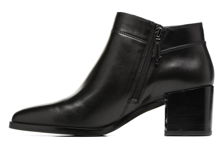 Bottines et boots What For Freda Calf Noir vue face