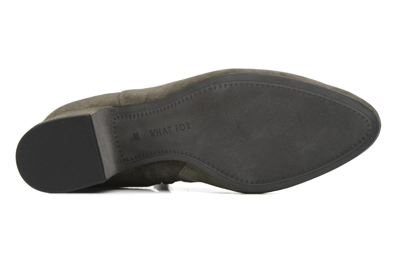 Bottines et boots What For Marylin Vert vue haut