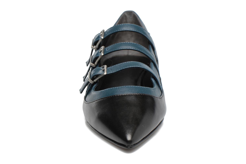Ballerines What For Georgette Calf Noir vue portées chaussures