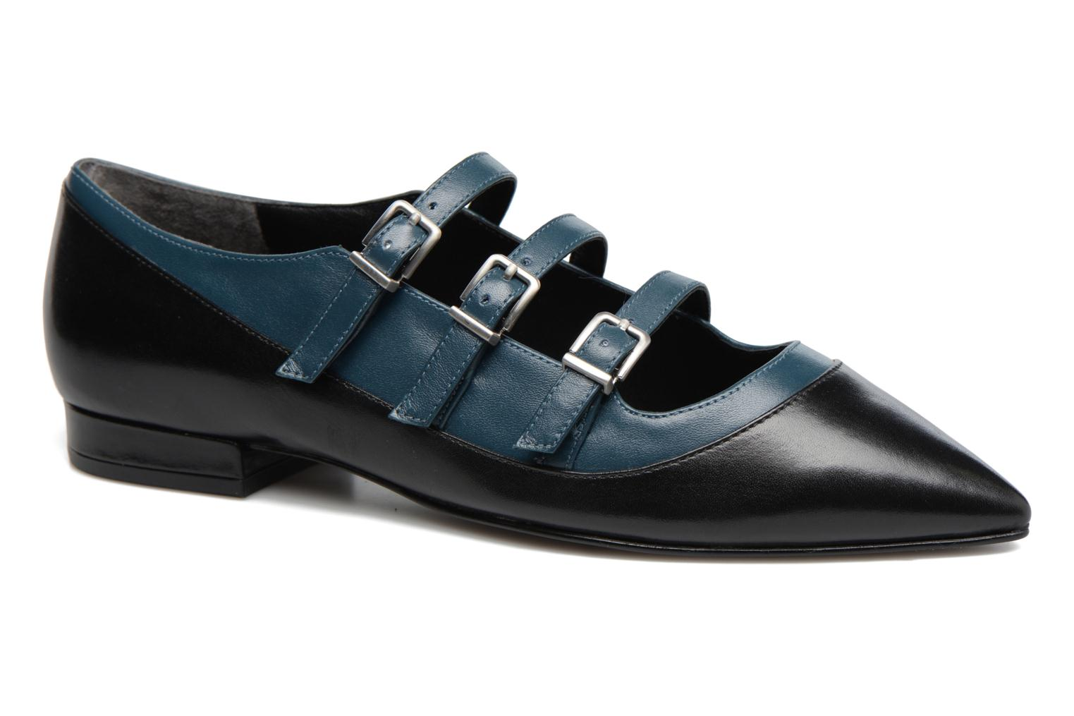Marques Chaussure femme What For femme Georgette Calf Black
