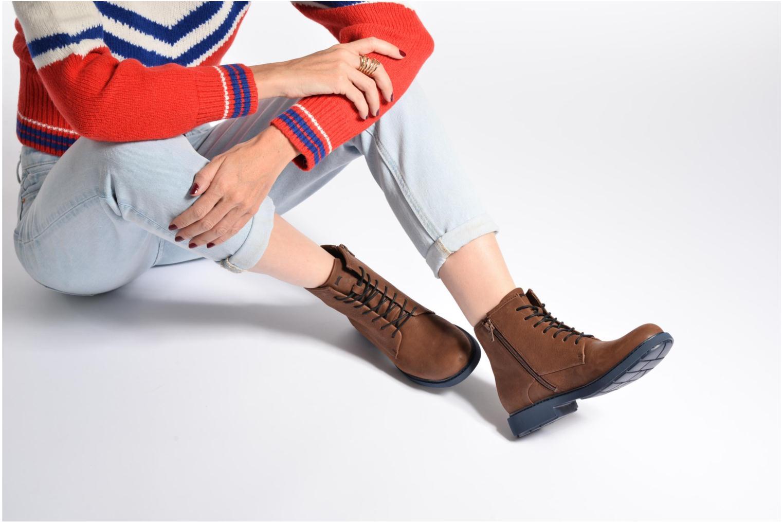 Bottines et boots Camper Neuman K400245 Noir vue bas / vue portée sac