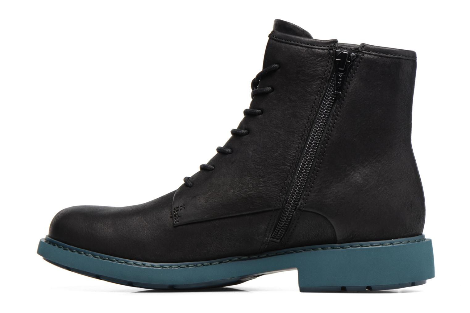 Ankle boots Camper Neuman K400245 Black front view