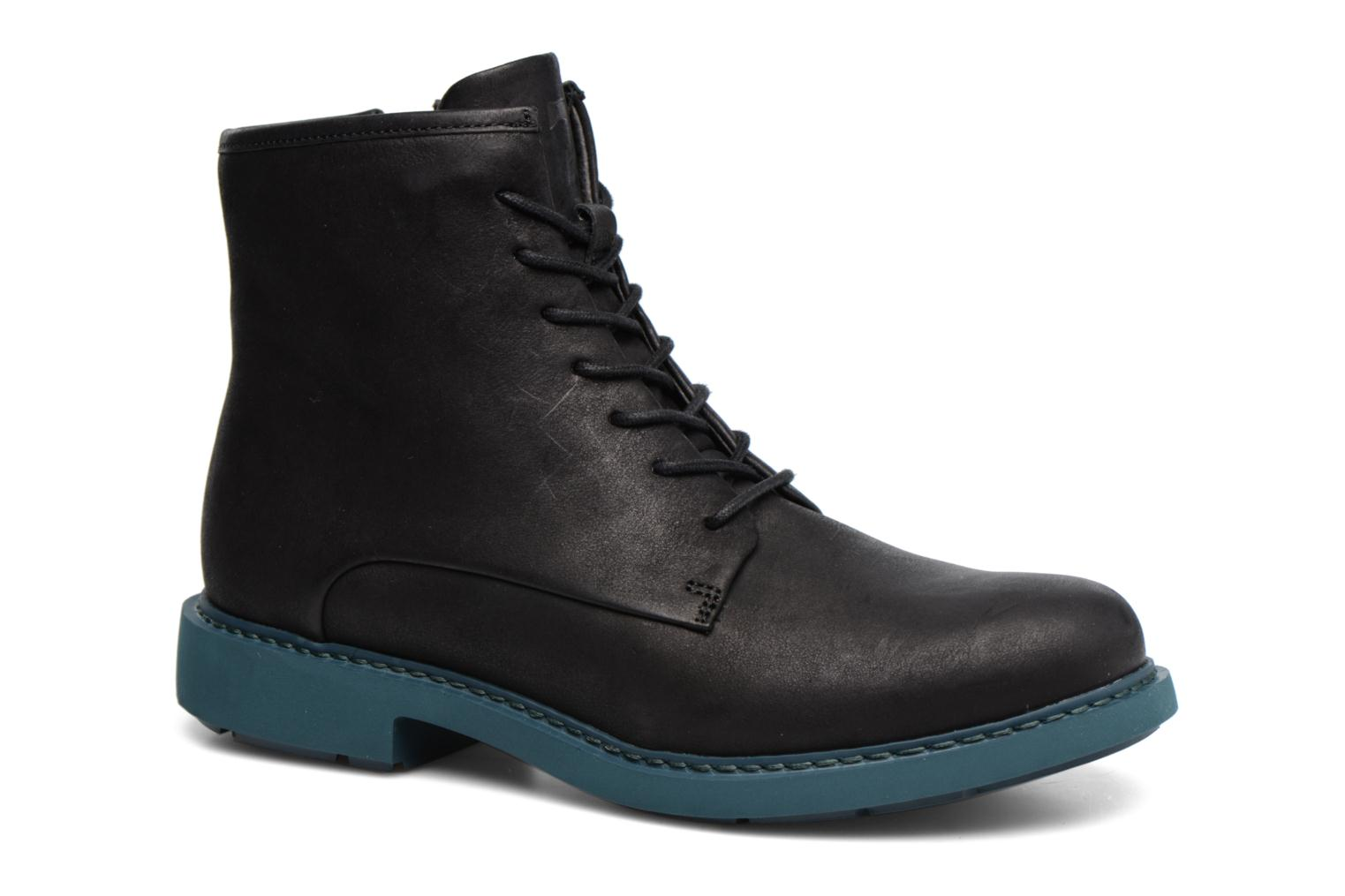 Ankle boots Camper Neuman K400245 Black detailed view/ Pair view