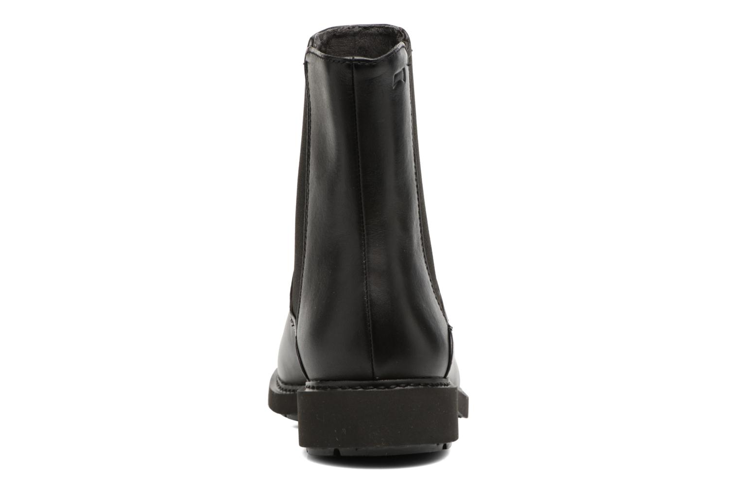 Ankle boots Camper Neuman K400246 Black view from the right