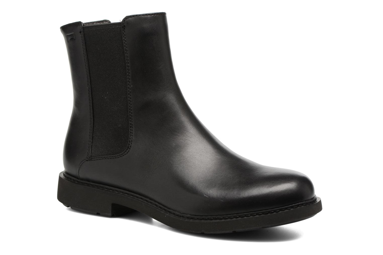 Ankle boots Camper Neuman K400246 Black detailed view/ Pair view