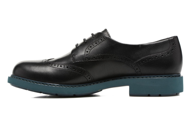 Chaussures à lacets Camper Neuman K200513 Noir vue face
