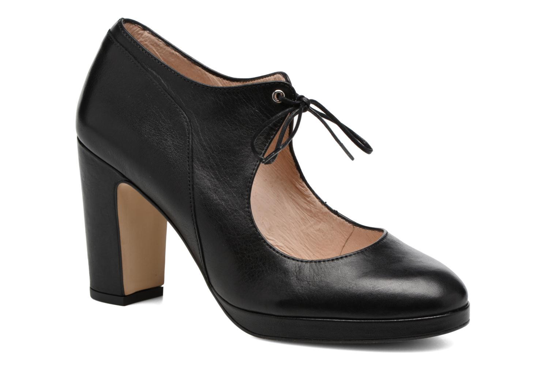 High heels Georgia Rose Colina Black detailed view/ Pair view