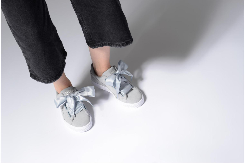 Sneakers Puma Basket heart Msafari Wn's Grijs onder