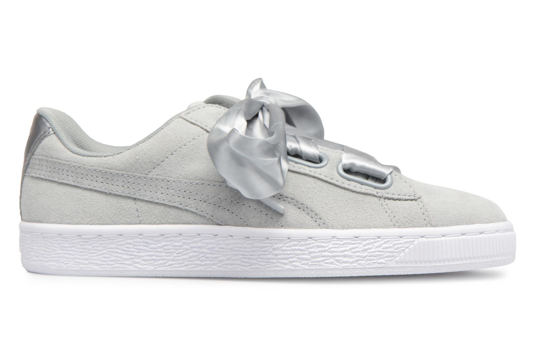 Sneakers Puma Basket heart Msafari Wn's Grijs achterkant