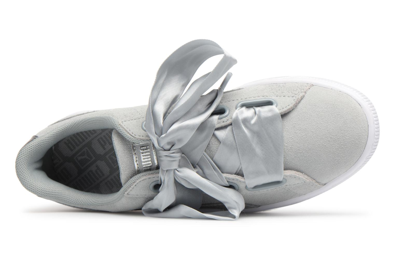 Sneakers Puma Basket heart Msafari Wn's Grijs links