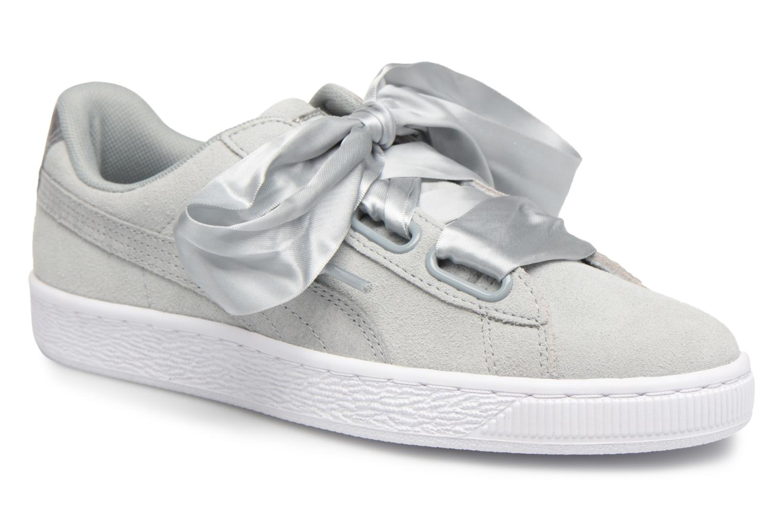Sneakers Puma Basket heart Msafari Wn's Grijs detail