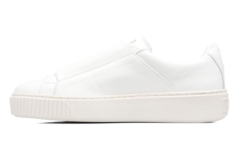 Sneakers Puma Wns Basket Platf Bigv Wit voorkant