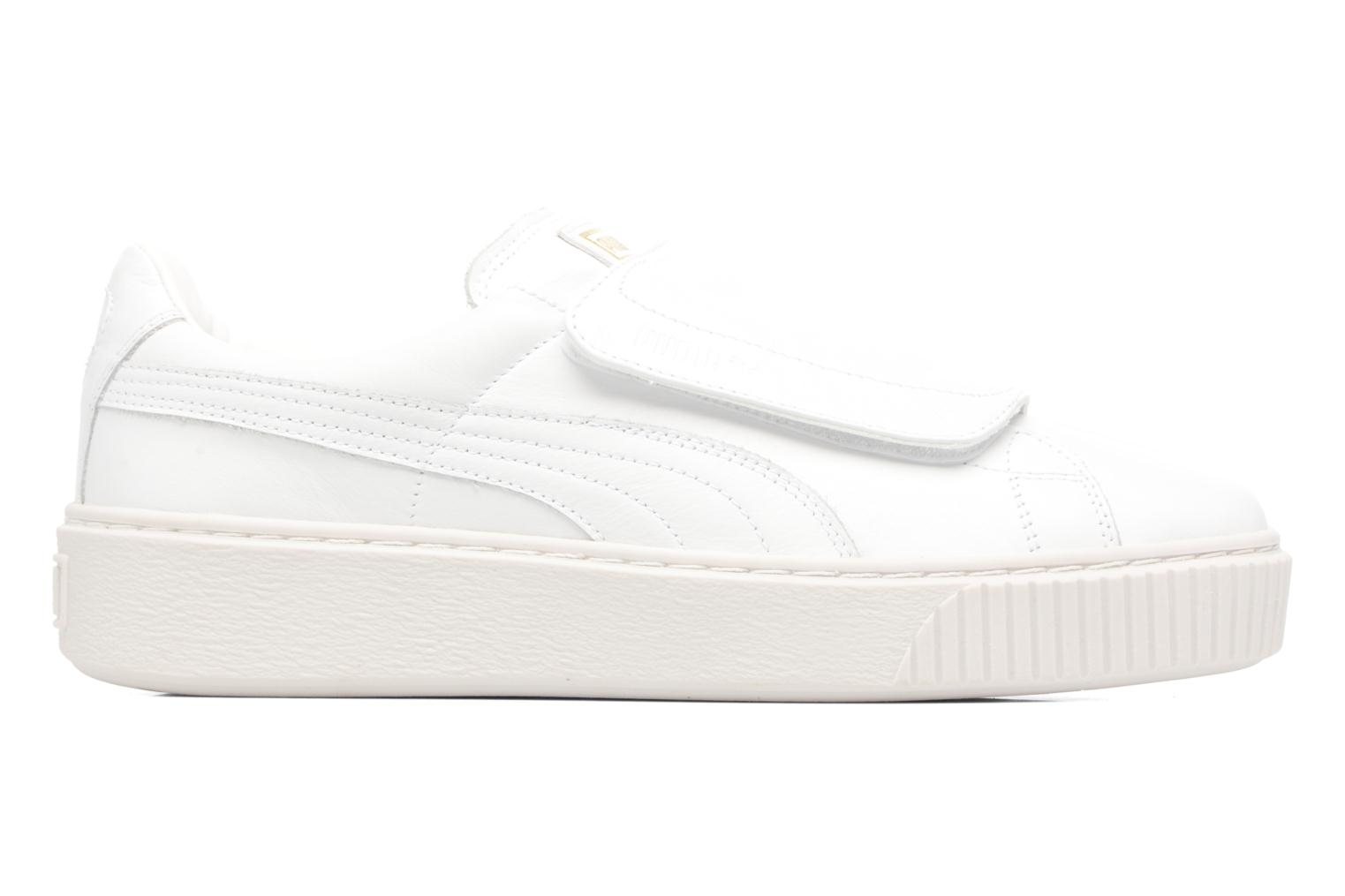 Sneakers Puma Wns Basket Platf Bigv Wit achterkant