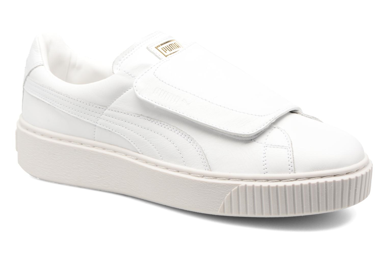 Sneakers Puma Wns Basket Platf Bigv Wit detail