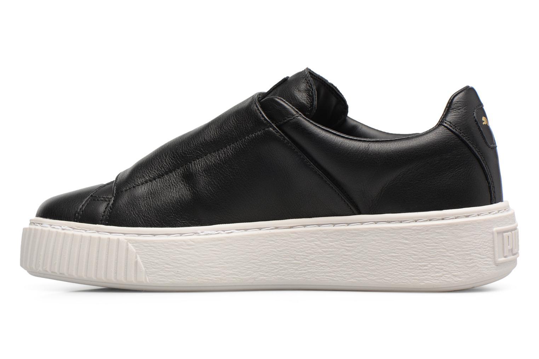 Sneakers Puma Wns Basket Platf Bigv Zwart voorkant