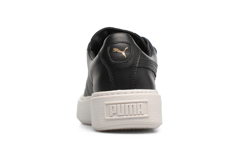 Sneakers Puma Wns Basket Platf Bigv Zwart rechts