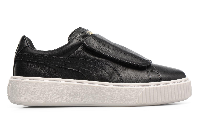 Sneakers Puma Wns Basket Platf Bigv Zwart achterkant