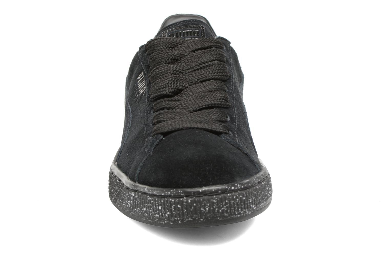 Baskets Puma Suede Mono Spkl Noir vue portées chaussures