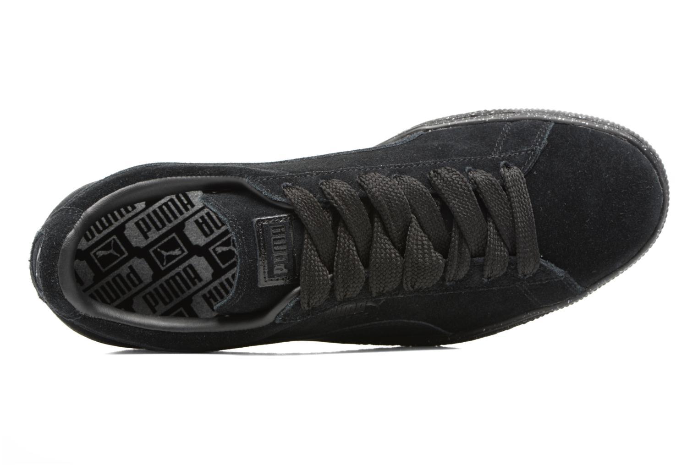 Baskets Puma Suede Mono Spkl Noir vue gauche