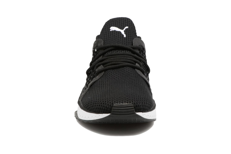 Baskets Puma Tsugi Netfit Noir vue portées chaussures