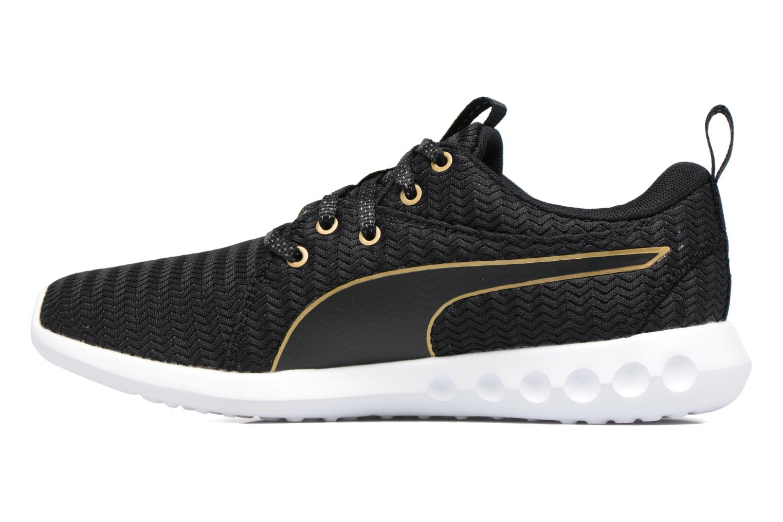 Chaussures de sport Puma Wns Carson 2 Metallic Noir vue face