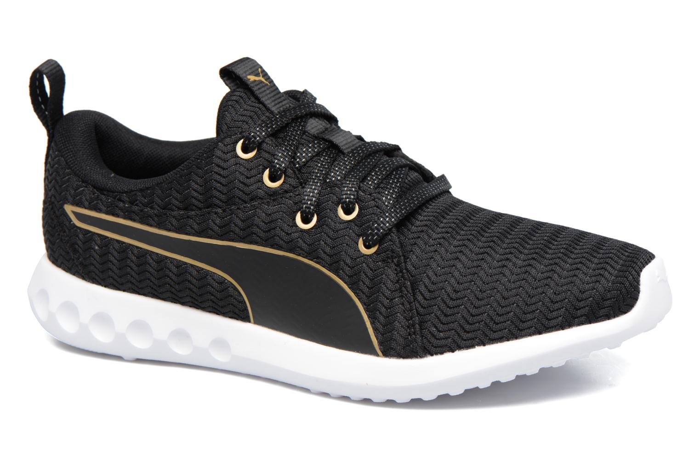 Chaussures de sport Puma Wns Carson 2 Metallic Noir vue détail/paire